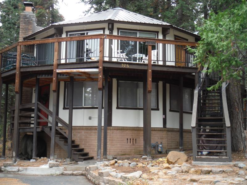 Our unique 12-sided home in Paradise! - Unique West Tahoe Vacation Home - Homewood - rentals