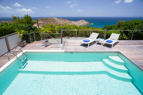 Located at the far end of Vitet offering a splendid sea view WV BEL - Image 1 - Saint Barthelemy - rentals