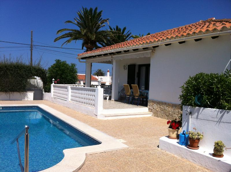 Beautiful Villa to relax, with own pool and BBQ - Beautiful Villa to relax, with own pool and BBQ - Cala'n Porter - rentals