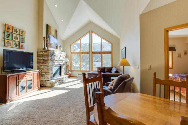 Penthouse mountain condo w/ shared pool, hot tub, & fitness! - Image 1 - Keystone - rentals