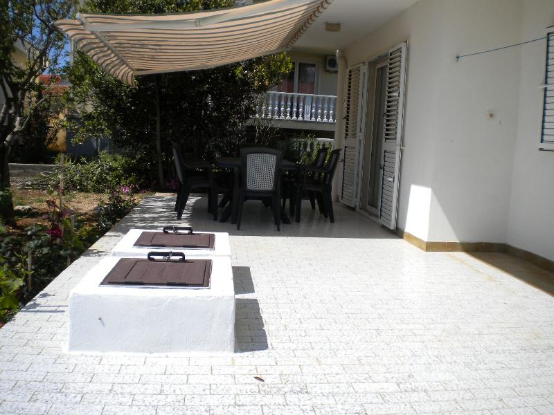 H(5+1): terrace - 35549 H(5+1) - Vir - Vir - rentals