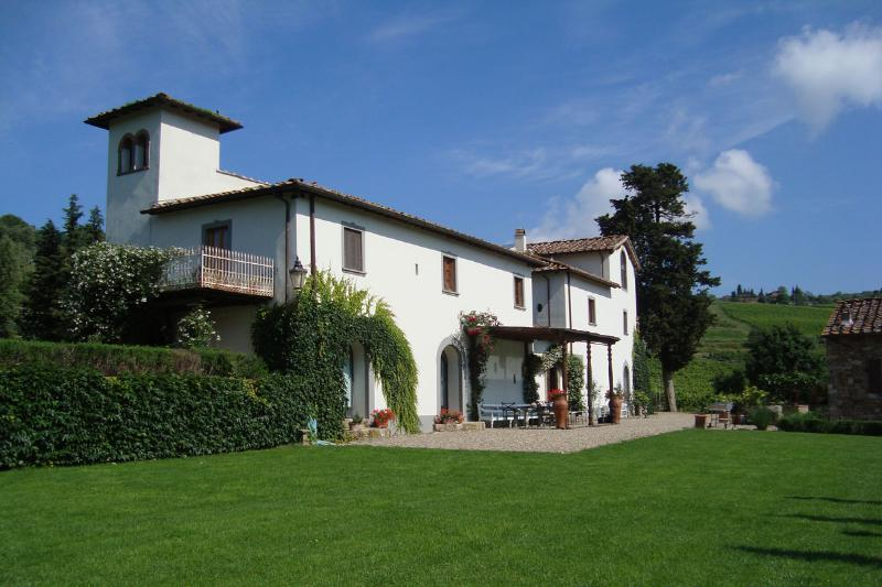 Villa Rignana - Image 1 - Greve in Chianti - rentals