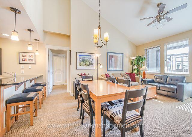 2 BD/ 2BA Walk to the slopes from this Founders Point with AWESOME views!! - Image 1 - Winter Park - rentals