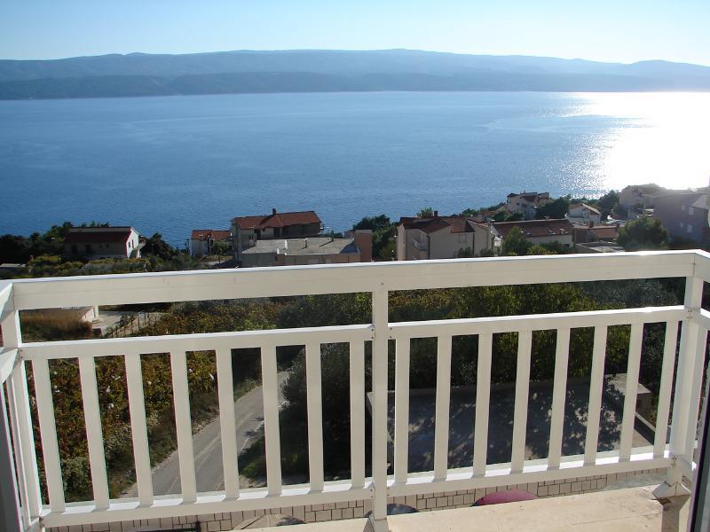 A3(4+2): terrace view - 00609STAN  A3(4+2) - Stanici - Stanici - rentals