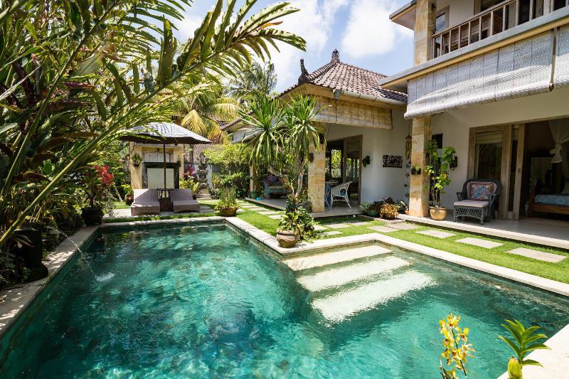 The Pool - Villa Semua Suka 3BD/3BA/POOL/Ricefields of Ubud - Ubud - rentals