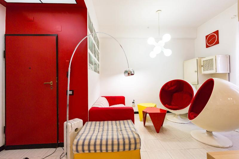 Living Room - Stylish Flat in Rome - Rome - rentals