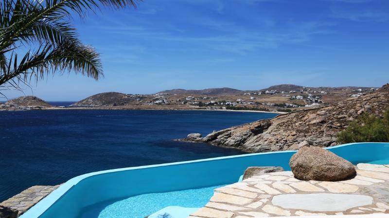 Blue Villas | Brigit Villa | Beachfront - Image 1 - Elia Beach - rentals