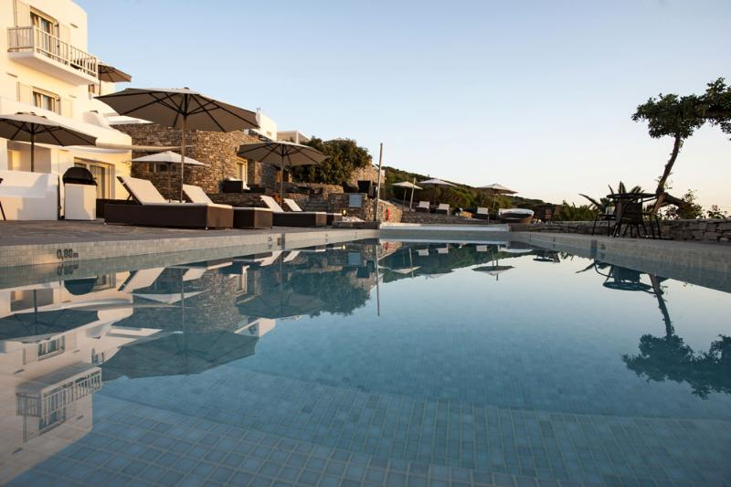 Luxury villa 6 with common pool, 1 in Tripadvisor - Image 1 - Paros - rentals