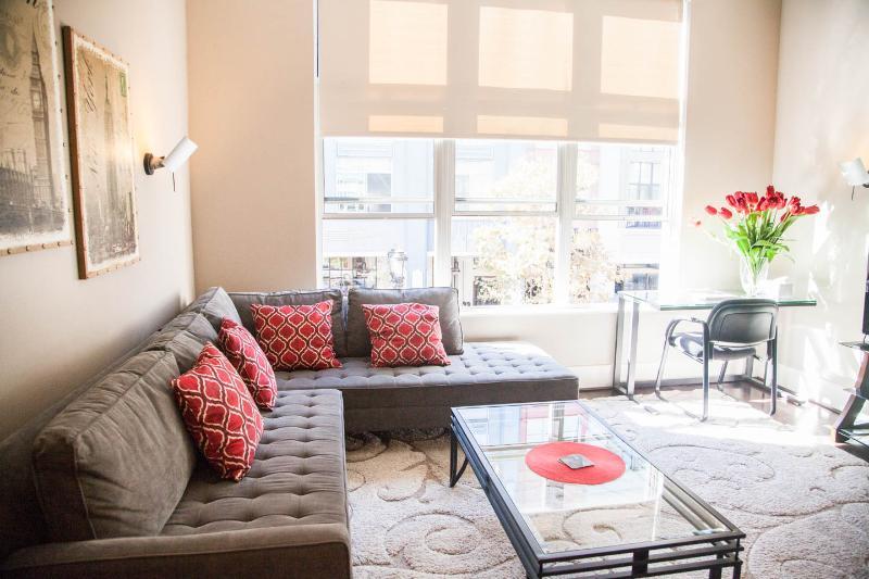 "Modern Santana Row condo facing the ""Row"" - Image 1 - San Jose - rentals"