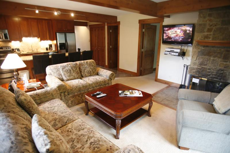 Living-room - Lift One - 410 - 3B/3B - Aspen - rentals