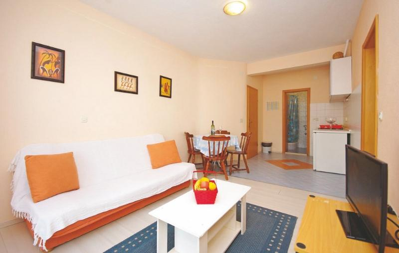 Living room - A2 Oragne apartment - Makarska - rentals