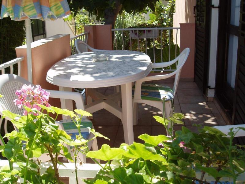 A1(4+2): balcony - 1984 A1(4+2) - Zadar - Zadar - rentals