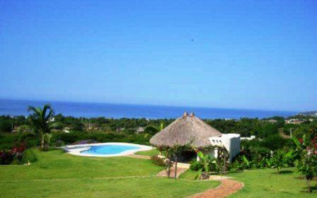 Spacious landscaped gardens with pool and ocean views - 5 BR Ocean View Estate Perfect for Couples 2 share - Puerto Escondido - rentals