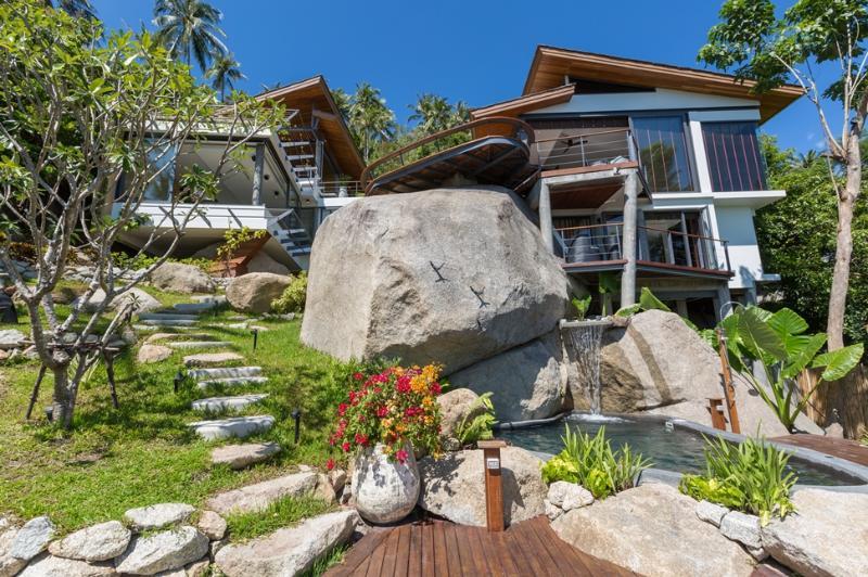 Samui Island Villas - Villa 190 Fantastic Sea View - Image 1 - Laem Set - rentals
