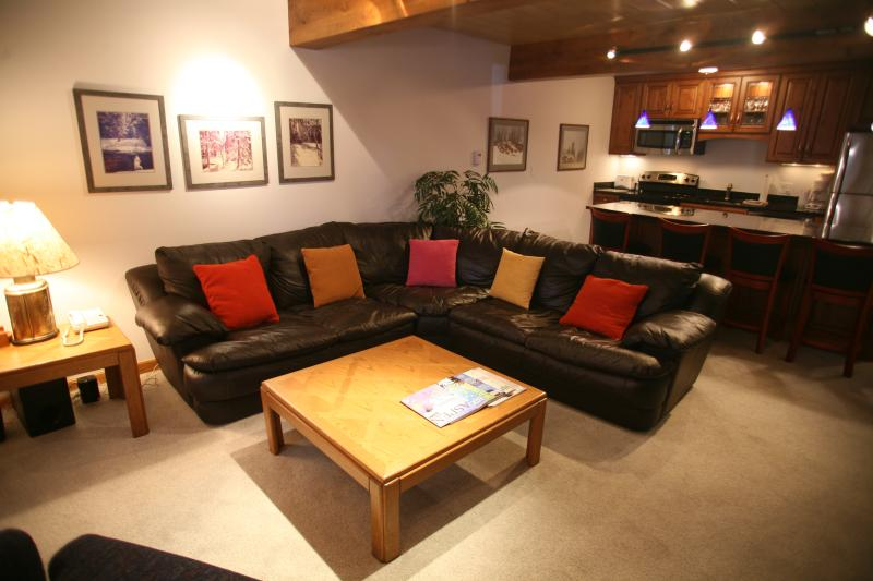 Living-room - Nice Condo with 2 Bedroom/2 Bathroom in Aspen (Aspen 2 BR/2 BA Condo (Lift One - 102 - 2B/2B)) - Aspen - rentals