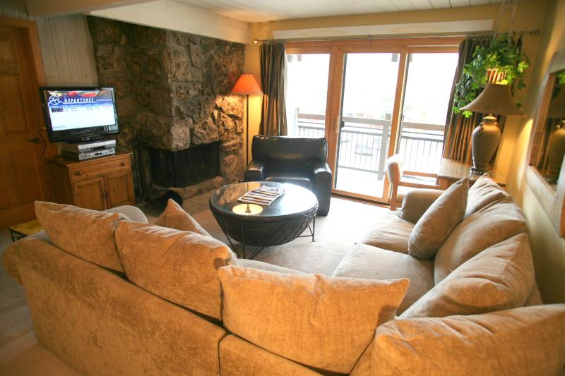 Living-room - Aspen 2 BR-2 BA Condo (Super Condo in Aspen (Lift One - 202 - 2B/2B)) - Aspen - rentals