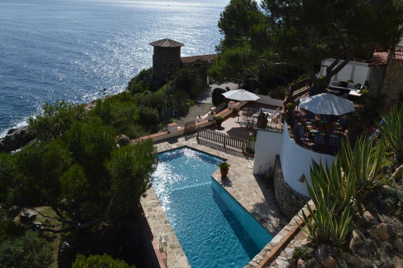 situation de la villa - Villa Transatlantique  en première ligne de mer - Llafranc - rentals
