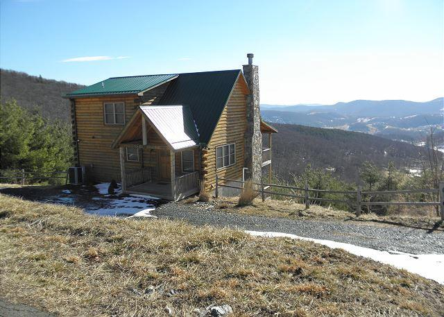 """""""ABSOLUTE HIGH"""" Breathtaking Views at 3900 ft & only 5 minutes to everything! - Image 1 - West Jefferson - rentals"""