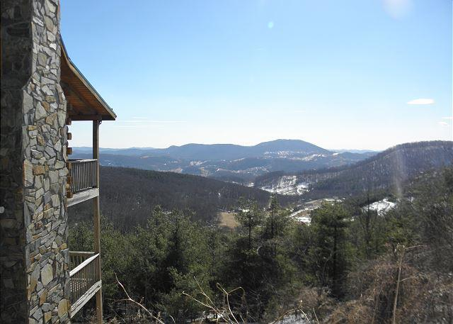 Enjoy Panoramic Views From Spacious Log Cabin Just Minutes From Town! - Image 1 - West Jefferson - rentals