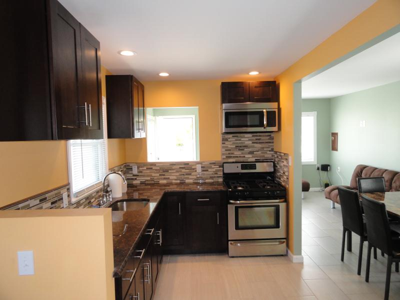 Kitchen - Newly Renevoted 2BR House- 2 blocks from Beach - Seaside Heights - rentals