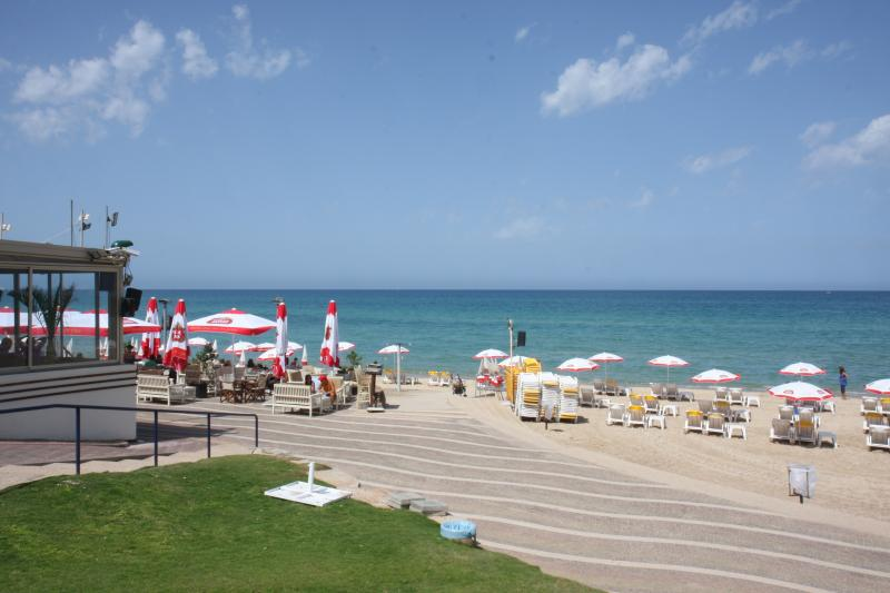 Local beach, located a 1 minute walk from our apartments! - ONE minute walk from the Beach  Herzelia Pituach! - Herzlia - rentals