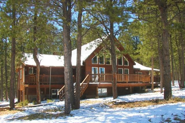 Front of Luxury Mountain Chalet Home - Nice Chalet Home*Hot Tub*BBQ Grill*Mountain Views - Angel Fire - rentals