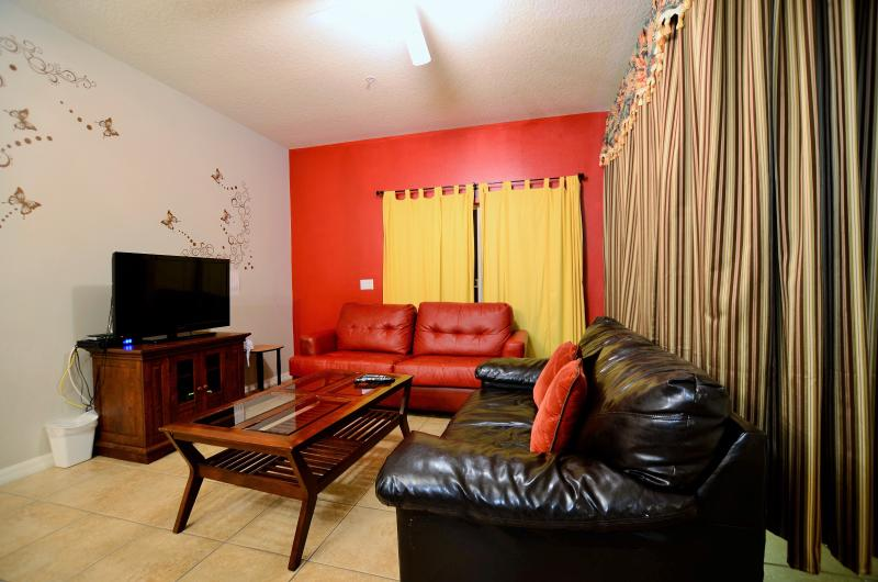 Living Room - 1.5 Mile to Disney ,1808 sqft 4br/3ba townhome - Kissimmee - rentals