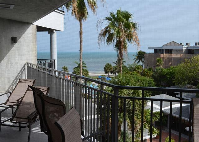 Ocean view from Balcony - Classic Two Bedroom Ocean View Condominium - Key West - rentals