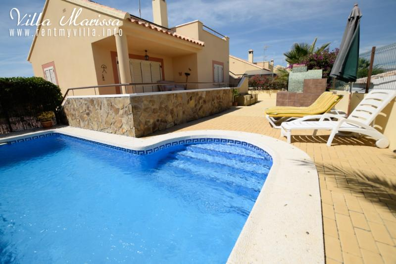 The Stunning Private Pool - Villa Marissa is a luxury 2 bed Villa with Pool - Zurgena - rentals