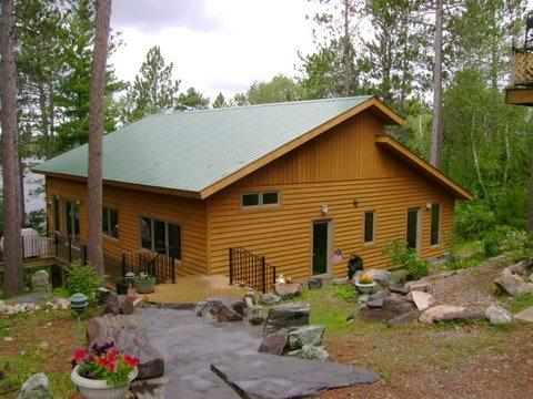 Exterior - Ring Rock Retreat: Beautifully Luxurious Fully Modernized Timber Frame Cabin on White Iron Lake - Ely - rentals