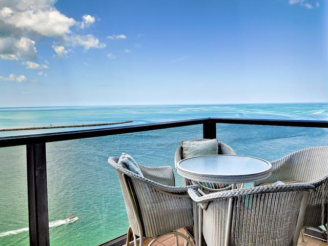 Beautiful Gulf views - 440 West Condos 1207 S 2 Bedroom split plan in 440 West - Clearwater Beach - rentals