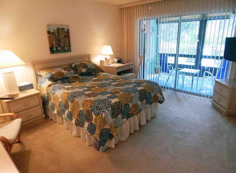 Master Bedroom - Bayside Mid-Rise Unit 101B - Siesta Key - rentals