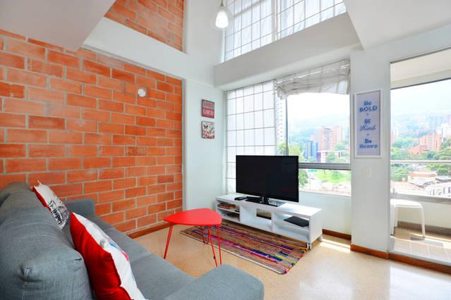 1303 - Condo in the best Location! - Image 1 - Medellin - rentals