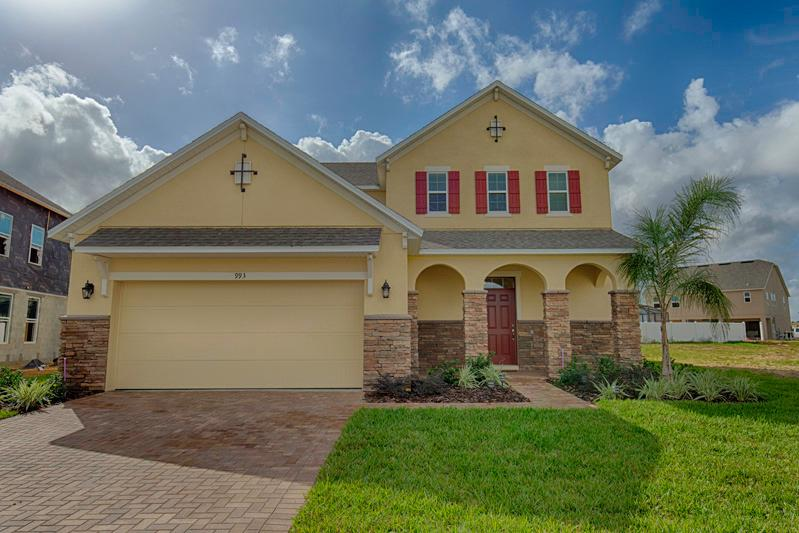 Front of Home - The Shire 6 Bed  - Pool Home (993-SHI) - Davenport - rentals