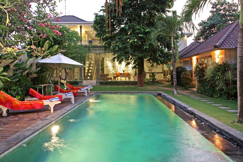 Private pool and garden - OCT NOV SPECIAL 650m to beach, Seminyak 5 BR villa - Seminyak - rentals
