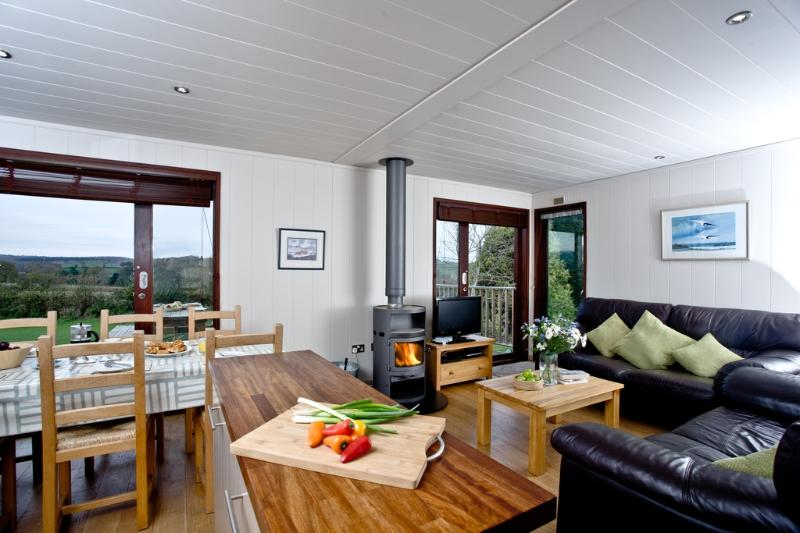 Oakwood Lodge located in Dawlish, Devon - Image 1 - Starcross - rentals