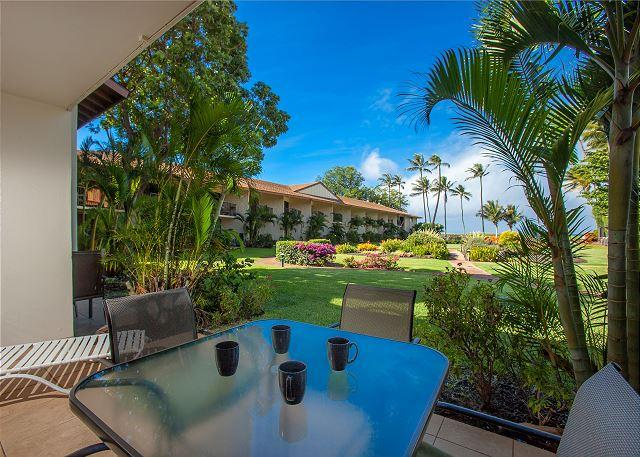 The ocean view from unit #C-111 - Waiohuli Beach Hale #C-111 Lovely 2bdrm 2ba Remodled Unit  Great Rates! - Kihei - rentals