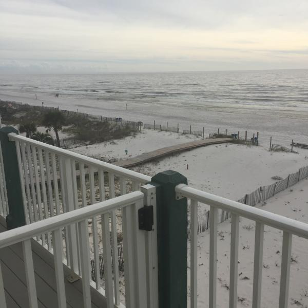 VIEW FROM OUTSIDE DECK - SUNDIAL, JUST A FEW STEPS FROM THE BEACH!20%0FF!! - Gulf Shores - rentals
