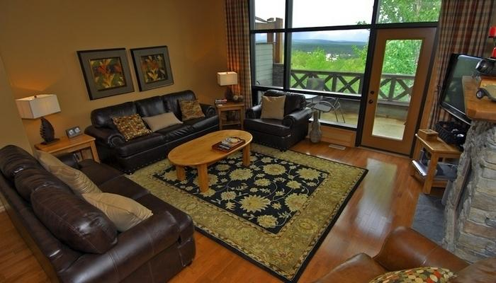 Floor-to-ceiling windows allow you to take in spectacular views of the Rockies - Kimberley Sullivan Stone 3 Bedroom Valley View Town Home - Kimberley - rentals