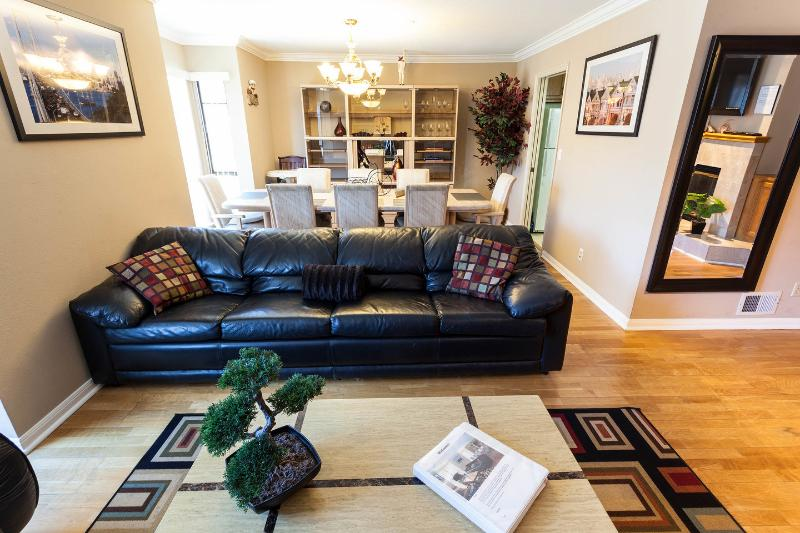 Living Room - Luxury Condo 1/2 block from Golden Gate Park - San Francisco - rentals
