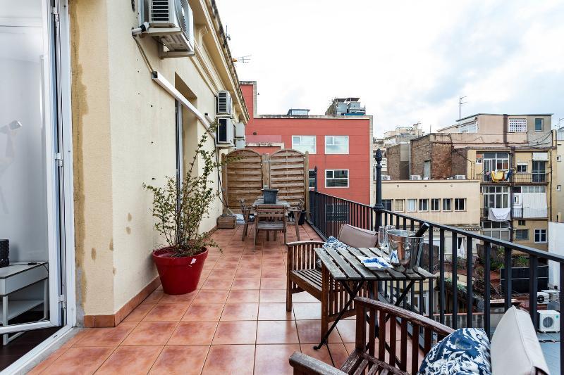 Terrace - Top Floor Penthouse Suite cv4 - Barcelona - rentals