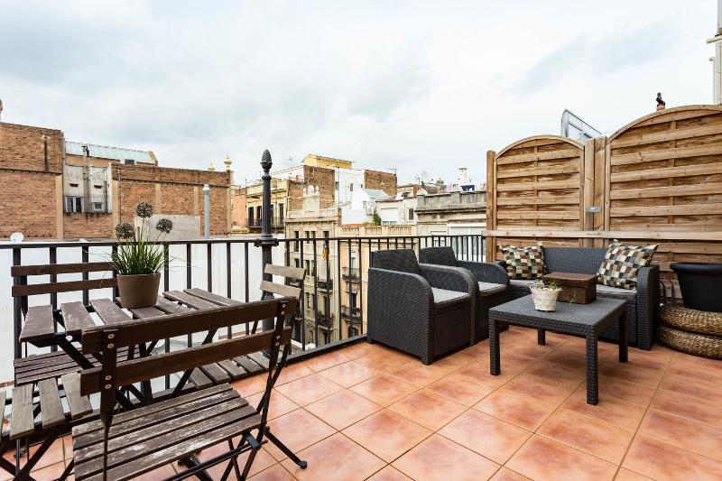 Terrace - Casa Valencia 3 Grand Terrace - Barcelona - rentals