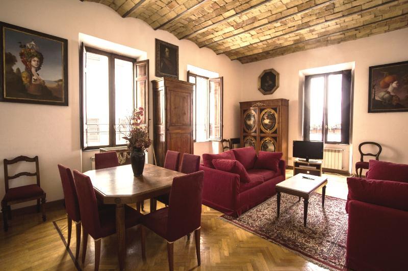 Living room - Terrace Suite Elena - Campo de Fiori - Rome - rentals