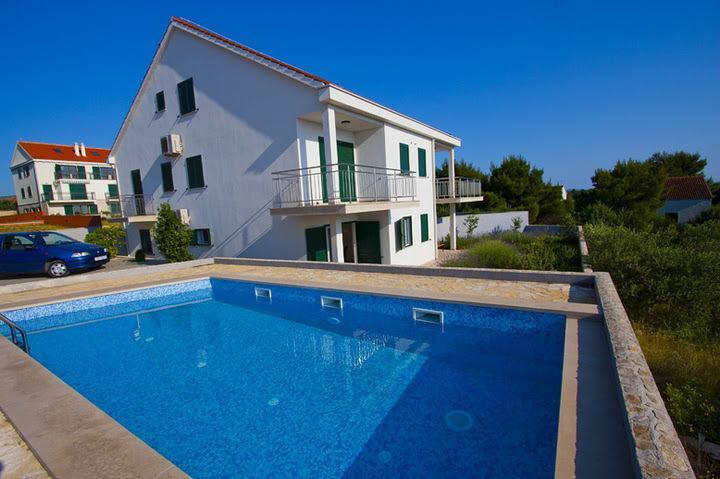 swimming pool (house and surroundings) - 2431 A1(4) - Milna (Brac) - Milna (Brac) - rentals