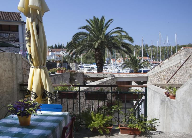 balcony view - Marija A1(4+2) - Milna (Brac) - Milna (Brac) - rentals