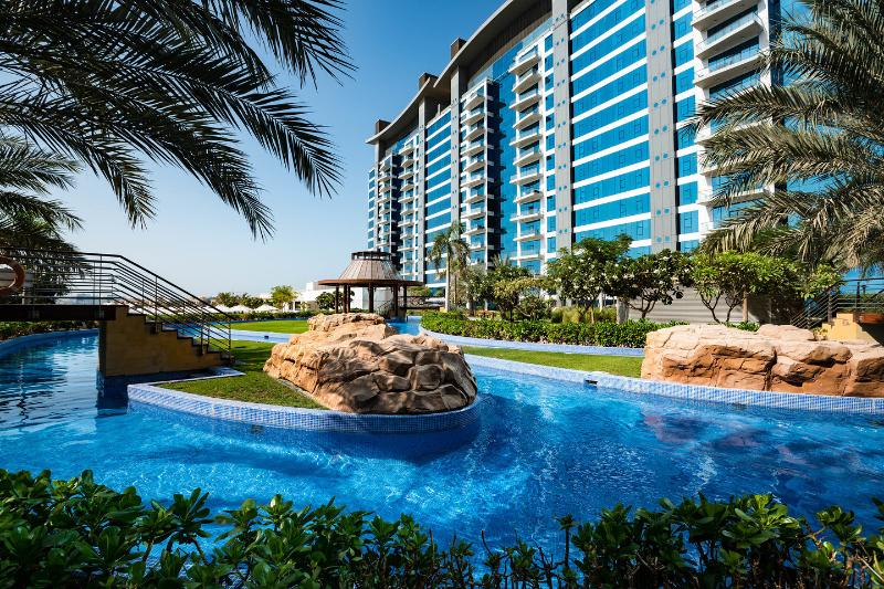 The Pool - Luxury apartment on Palm Jumeira with own Beach - Dubai - rentals
