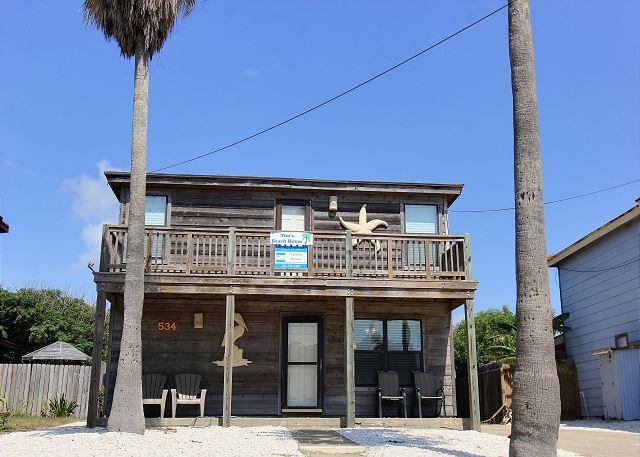 Welcome to 534 s. Twelfth Street - Fabulous 3 bedroom 2 bath home in the heart of Port Aransas! - Port Aransas - rentals