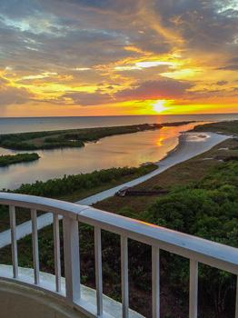 Sunset over the Gulf of Mexico - SST4-1212 - South Seas Tower - Marco Island - rentals