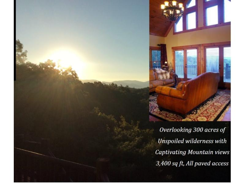 Reconnect & Recharge - TOTALLY Private Luxury Lodge w/CaptivatingViews - Ellijay - rentals