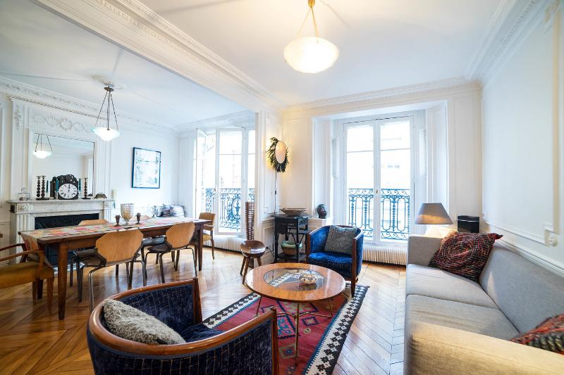Living Room - Central Paris Luxury Apt - Ile St. Louis 4th - Paris - rentals